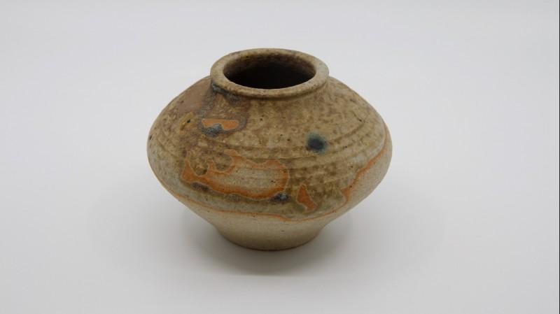 Edouard CHAPALLAZ (1921-2016) - Petit vase boule en grès, vers 1970