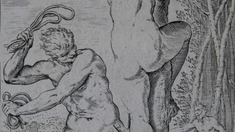 Agostino CARRACCI (1557-1602) - Gravure au burin, ca 1590-1595