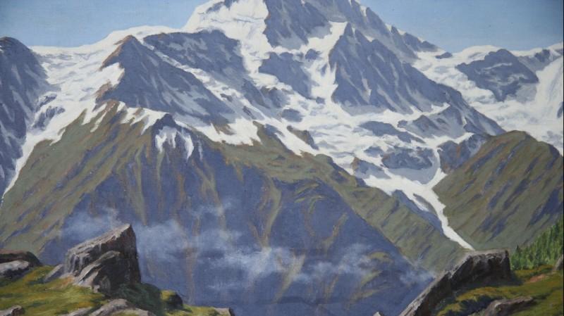 Adrien Lasserre (1876-1955) - Paysage de montagne