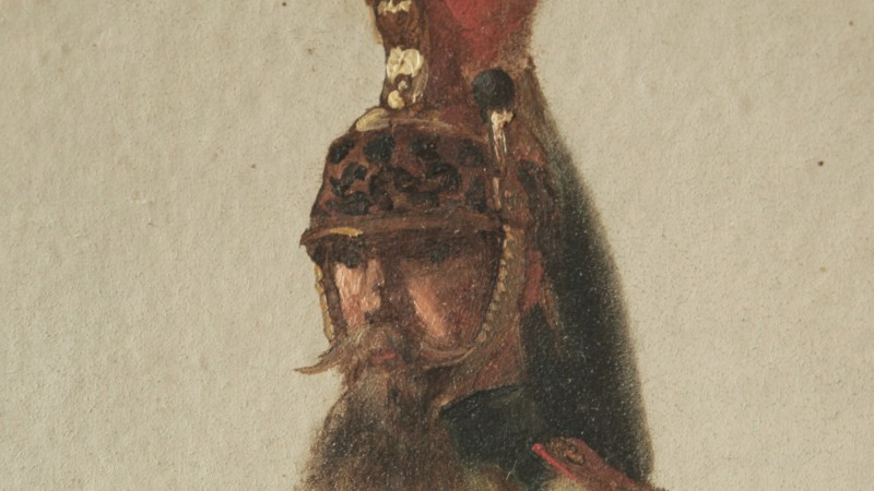 Septime Le Pippre (1833-1871) - Dragon du 7e Régiment, 1859