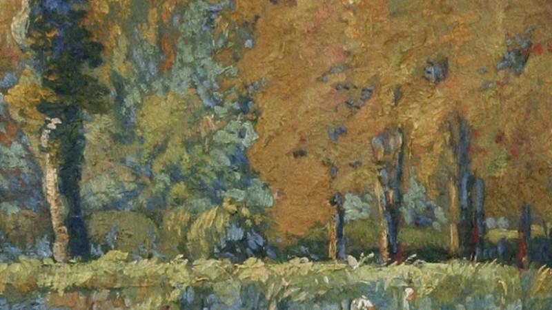 Auguste Ehrat (XIXe - XXe) - Huile sur toile