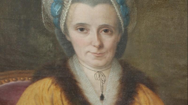 Grand portrait d'époque Louis XVI - France, vers 1780