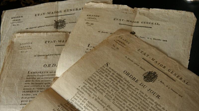 Ordres du jour - Etat-Major de la Grande Armée, 1806 et 1807