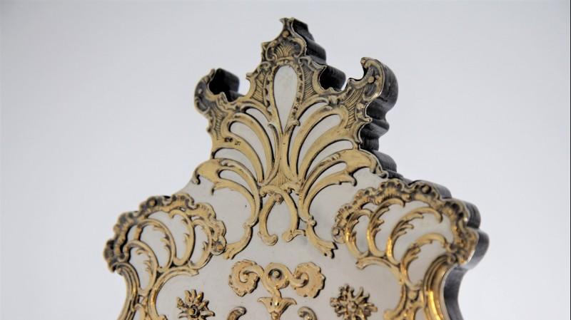 Grand miroir de toilette en argent & vermeil - Jacobes J. Oosterbaan, Londres 1878