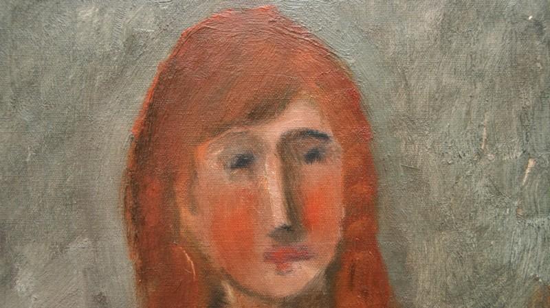 """Leopold Haefliger (1929-1989) - """"Ann"""", 1959"""
