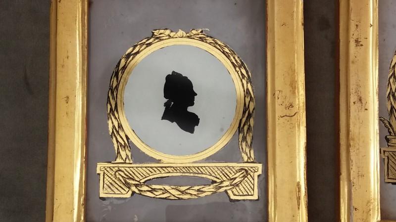Paire de silhouettes - vers 1790
