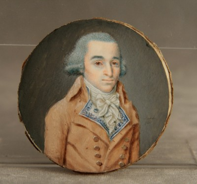 Ferdinand Machéra (1776-1843) - Miniature, époque Directoire