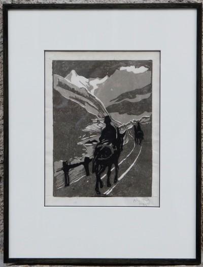 Alice BAILLY (1872-1938) - Le val d'Hérens, 1906