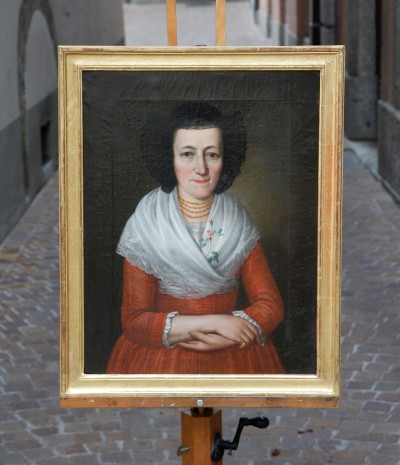 Paire de portraits - Suisse, s.d. Berne, vers 1800