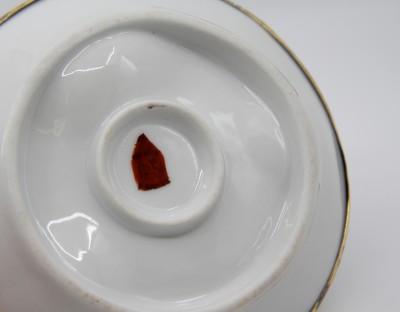 Serviteur à oeuf coque, Charles Pillivuyt - Porcelaine de Mehun, milieu du XIXe