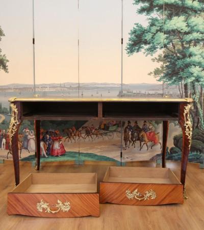 Bureau plat de style Louis XV - vers 1880