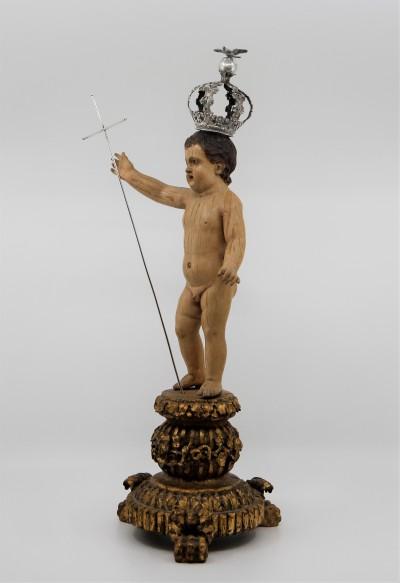 Christ Enfant, sculpture polychrome - Brésil, début du XIXe siècle