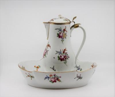 Pot à eau et son bassin, XVIIIe - Sans doute Locré, Paris vers 1785