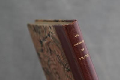 P. Louÿs, Les Chansons de Bilitis - Edition originale, 1895