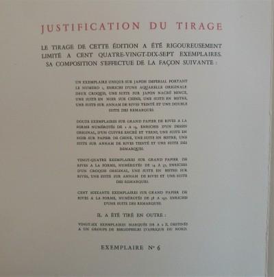 Mirabeau, Le rideau levé - Edition clandestine de luxe sur grand papier