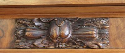 Armoire à trois colonnes torses - Bâle, fin du XVIIe siècle