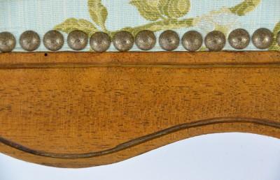 Fauteuil à la Reine, ca 1750 - Estampillé Pierre Nogaret à Lyon