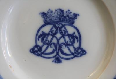 Assiette en faïence de Moustiers - Fabrique de Clérissy, XVIIIe