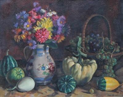 Max RIMBOECK (1890-1956) - Nature morte, 1950