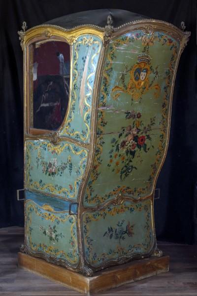 Chaise à porteurs - vers 1770