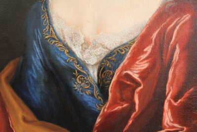 Robert GARDELLE (1692-1766) - Deux portraits, 1729