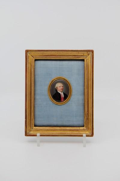 Miniature sur émail - Ecole de Genève, vers 1800