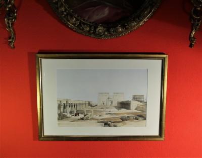 David ROBERTS (1796-1864) - Temple de Philae, 1846