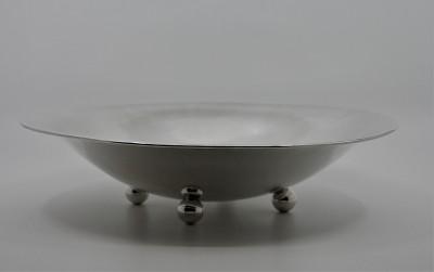 Coupe Art Déco en argent massif - Wilhelm BINDER, Schwäbisch Gmünd, années 30