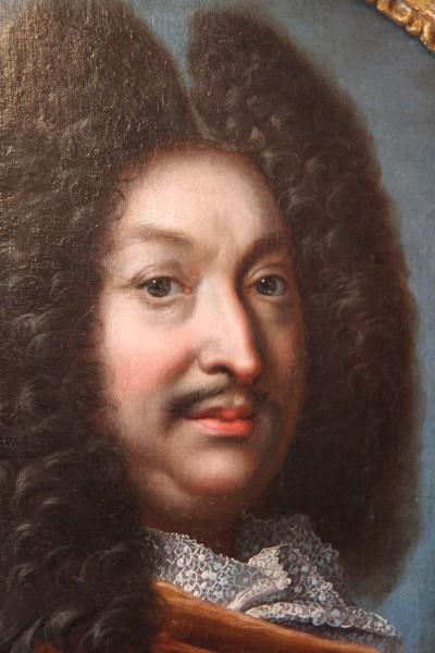 Suiveur de Hyacinthe Rigaud (1659-1743) - Portrait de gentilhomme, vers 1690