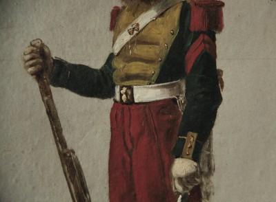 Septime Le Pippre (1833-1871) - Dragon du 7e Régiment, 1859