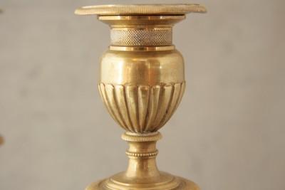 Paire de flambeaux Empire - att. André-Antoine Ravrio (1759-1814)