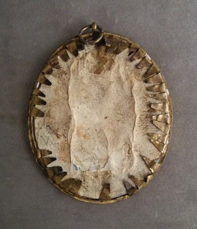 Miniature sur ivoire - Suisse, fin du XVIIIe