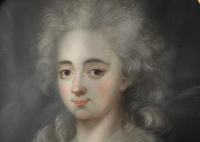 Angélique de Corsier - Pastel, vers 1780
