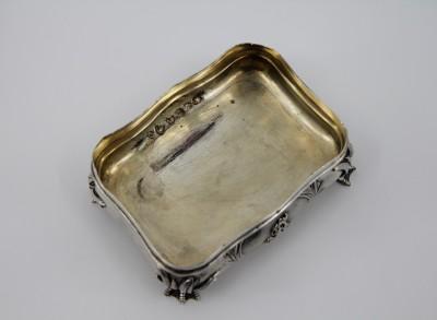 Boîte sirène en argent massif - Autriche, Vienne 1861