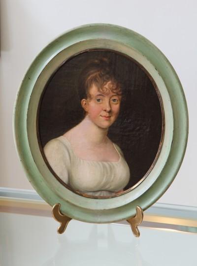 Portrait de jeune femme, vers 1800 - Suzanne Marie de la Grange
