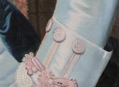 Portrait d'homme, XVIIIe - Suisse orientale