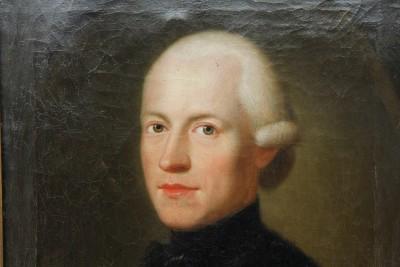 Georg Oeri & Cleopha von Meiss - Paire de portraits, Zurich 1779