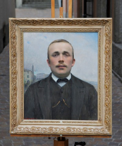 Michele LOFFREDO (1870-1961) - Portrait d'homme, vers 1900