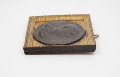 s.d. Claude Varin (actif 1630-1654) - Médaillon en bronze au profil de Cicéron