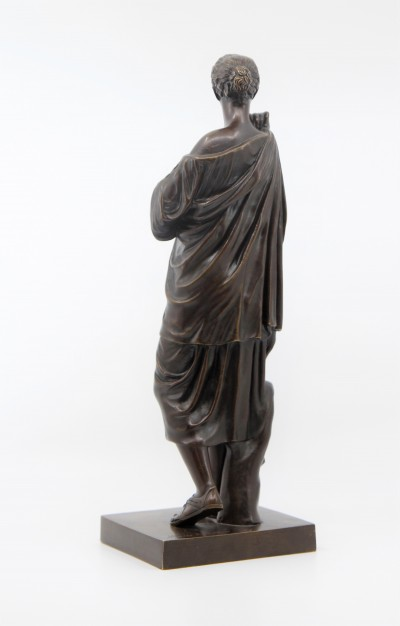 Diane de Gabies - Réduction en bronze, Musée du Louvre