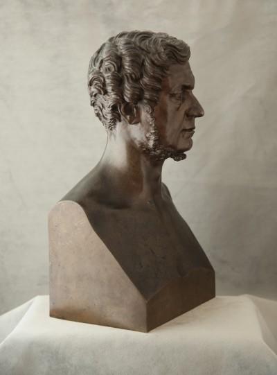 Domenico Maggesi (1801-1892) - Buste en hermès, vers 1866