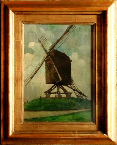 Virgi Cokelberghs (1893-1967) - Huile sur panneau