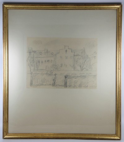 René AUBERJONOIS (1872-1957) - Crayon sur papier